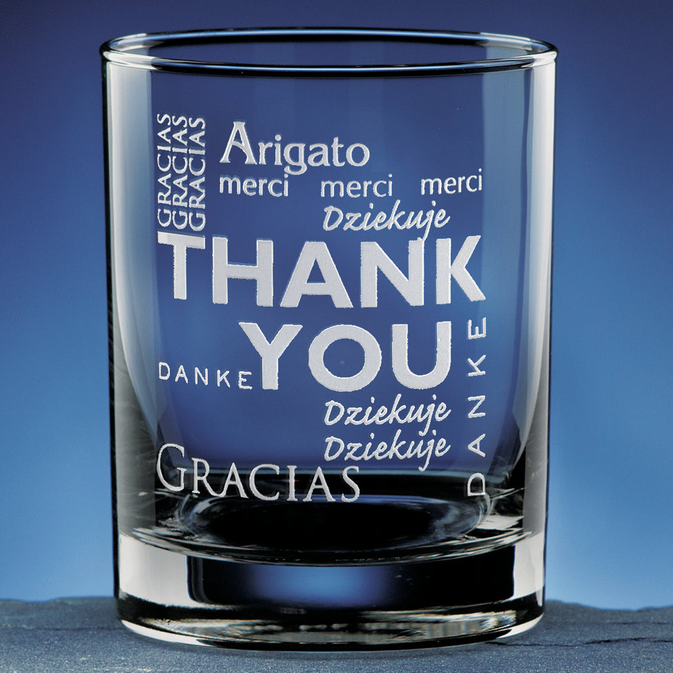 Thank You Glass - Item #8050