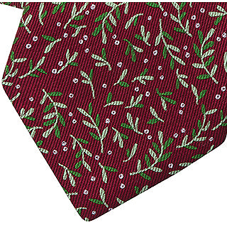 Under the Mistletoe 100% Silk Tie - Item #8622
