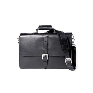 Cesena Classic Vachetta Leather Briefcase-Item #H0099/H0099B