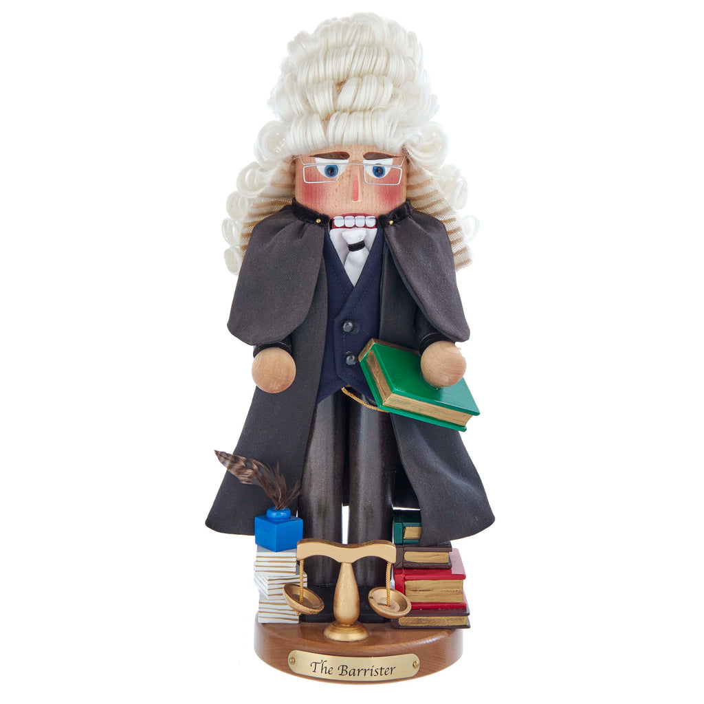 "The 17""  Signed Barrister Nutcracker Limited Edition,  Item#H0142"