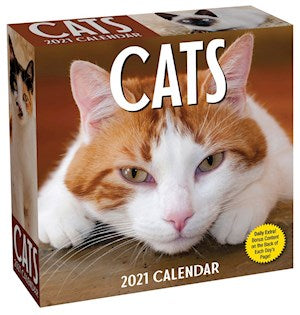2021 Cats a Day Calendar- Item #H001921