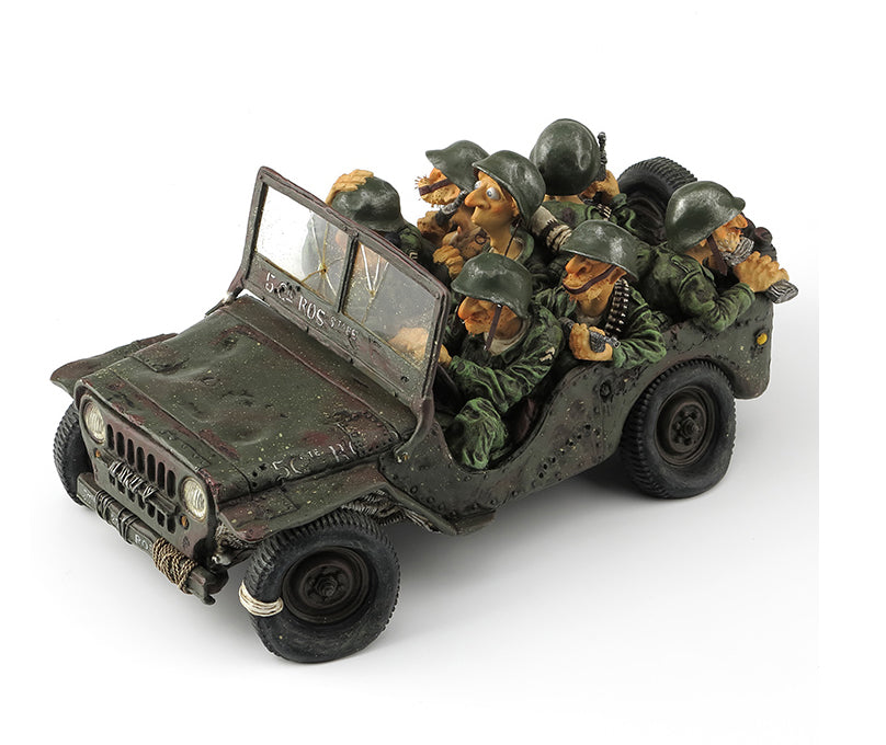 Forchino Statues- Army Jeep Item #H0031