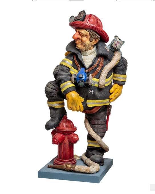 Forchino Statues- The Firefighter Item #H0033