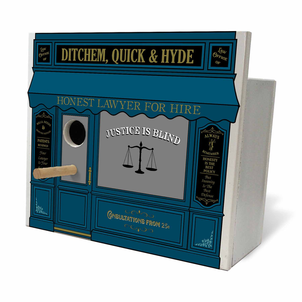 Lawyer Bird House - Item #H0048