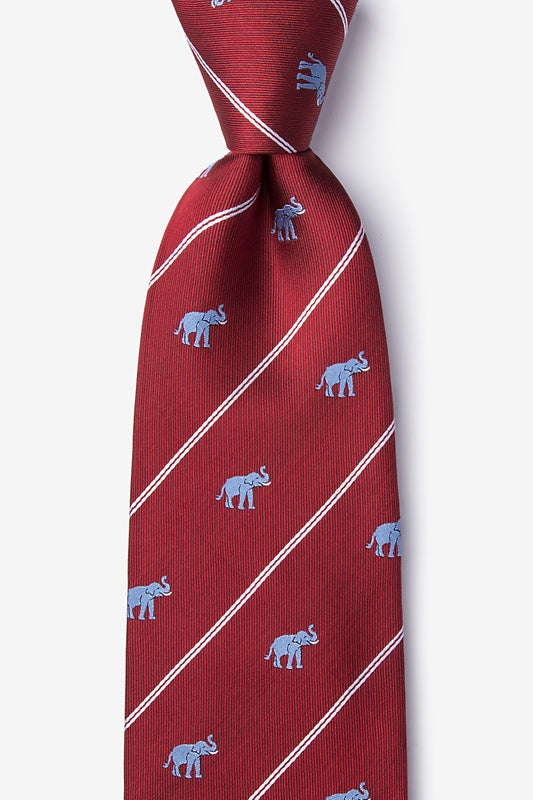 Extra Trunk Space 100% Silk Tie - Item #H0071