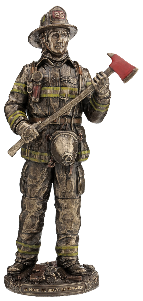 FIREFIGHTER WITH AXE, ITEM #H0082