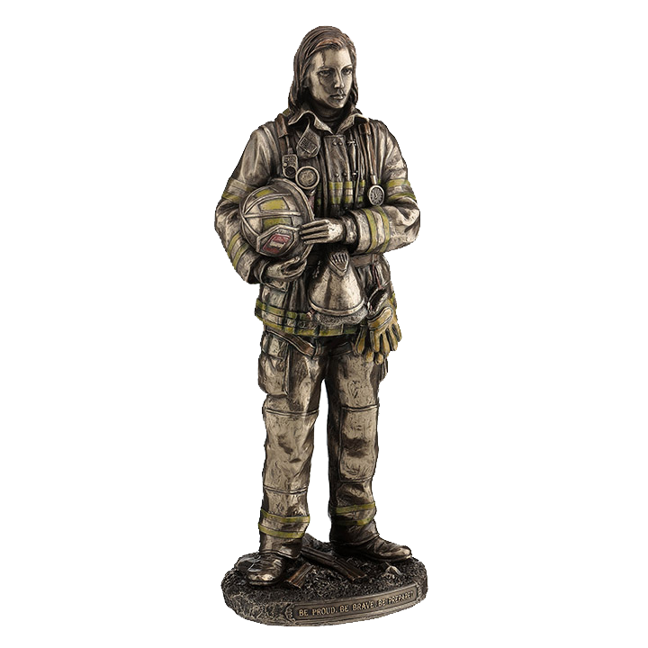LADY FIREFIGHTER, ITEM #H0083