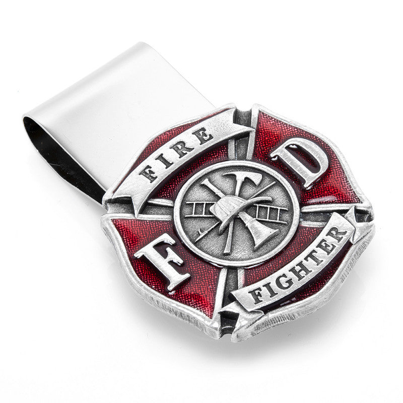 FIREFIGHTER MONEY CLIP - Item # H0096