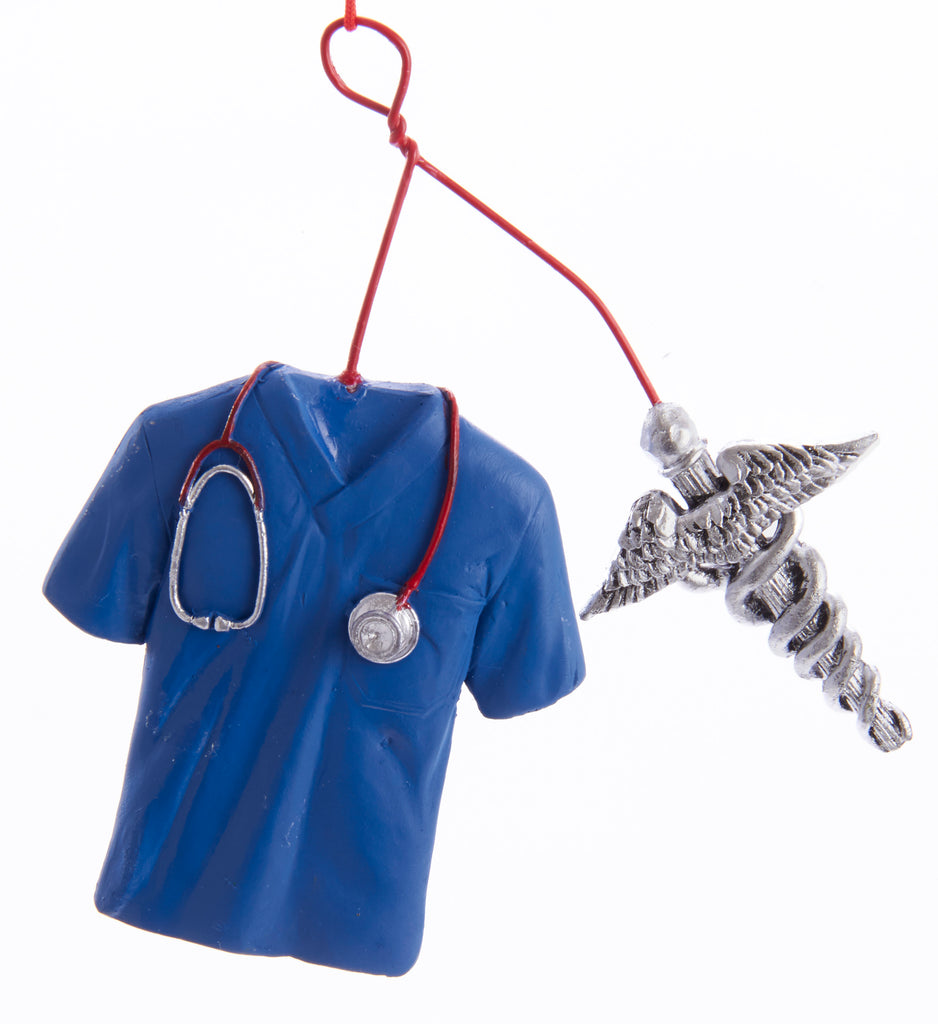 Doctor/Medical Caduceus Ornament- Item#H0124