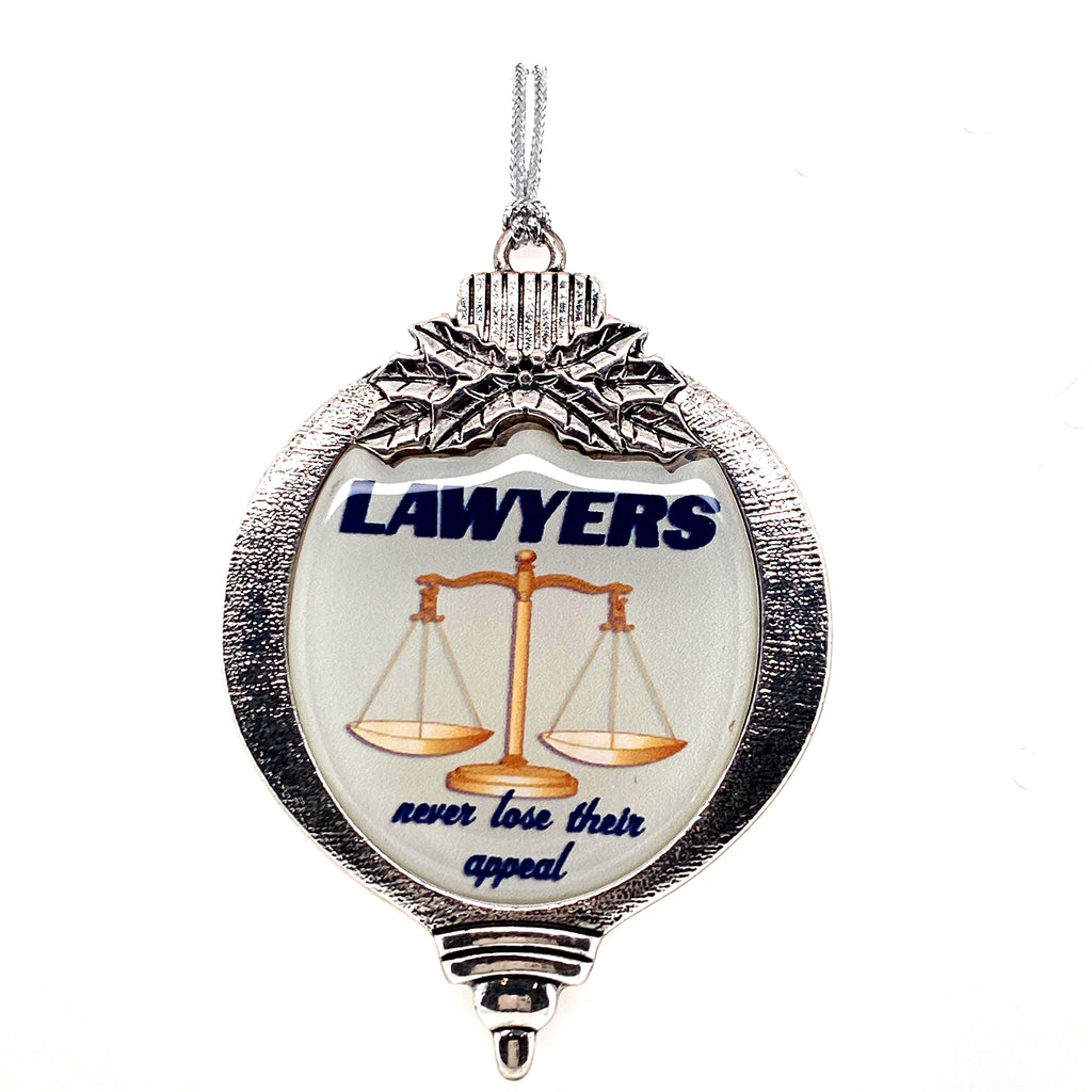 Lawyers Ornament- Item#H0129