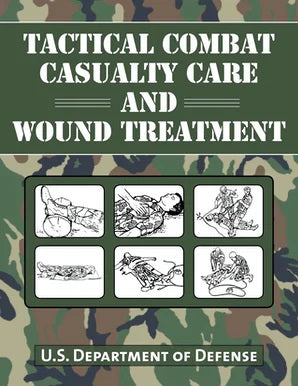 Book-Tactical Combat Casualty Care and Wound Treatment- Item#H0139