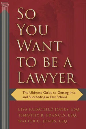 Book- So You Want To Be A Lawyer- Item#H0140