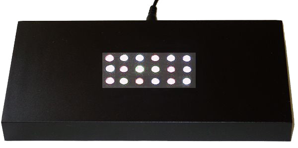 Black Plastic Light Base for your Optical Crystal