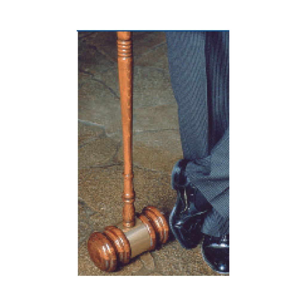 Extra Large Novelty Gavel - Item #1203