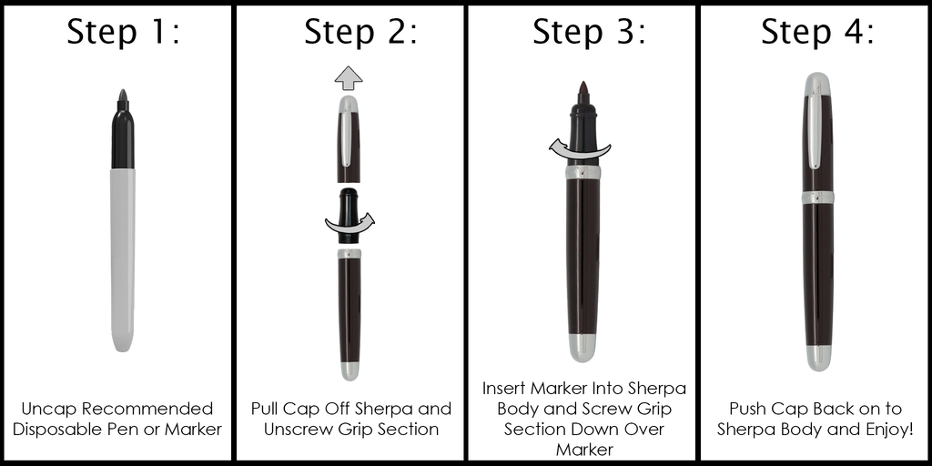 SHERPA WEDDING SET- SPECIAL EDITION SHARPIE MARKER COVER- #H0078