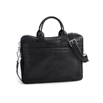 Treviso Buffalo Leather Briefcase-Item #H0100