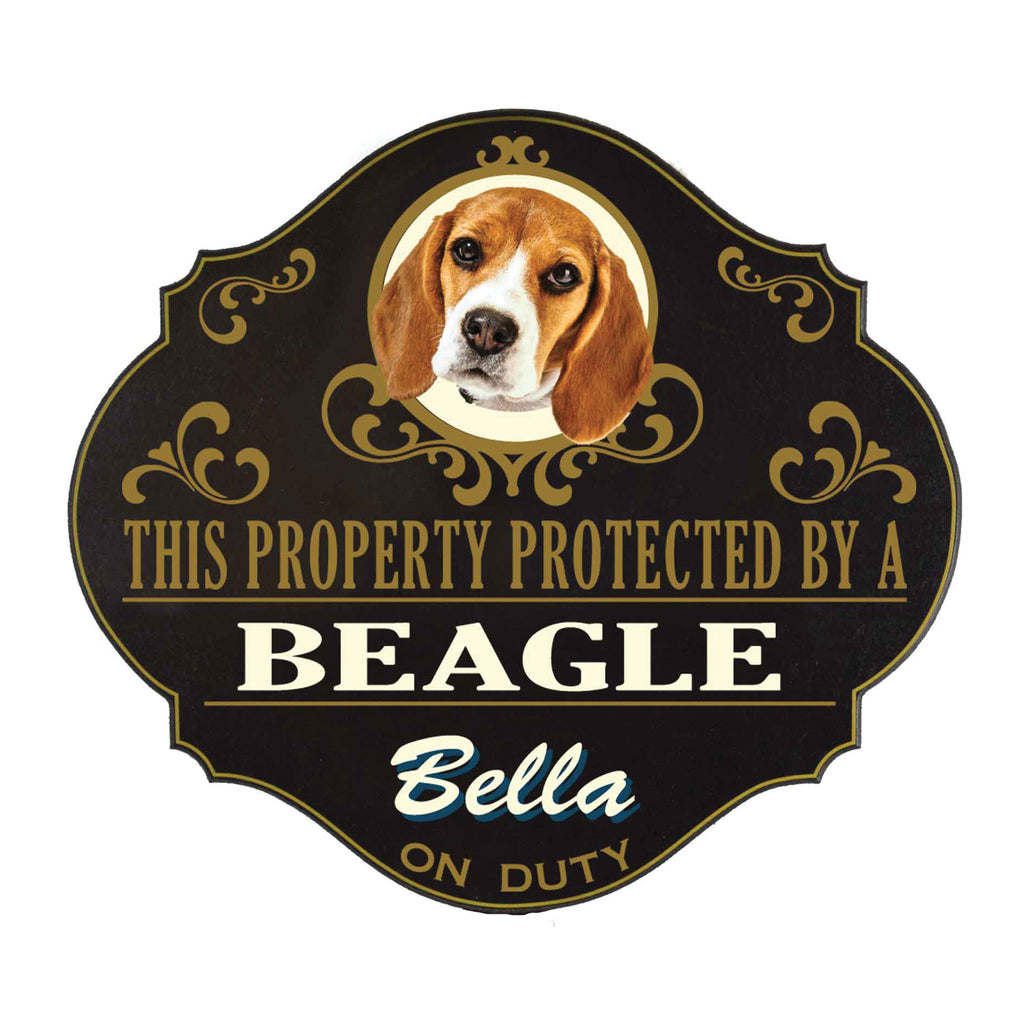 Personalized Dog Yard Signs - Item #5120