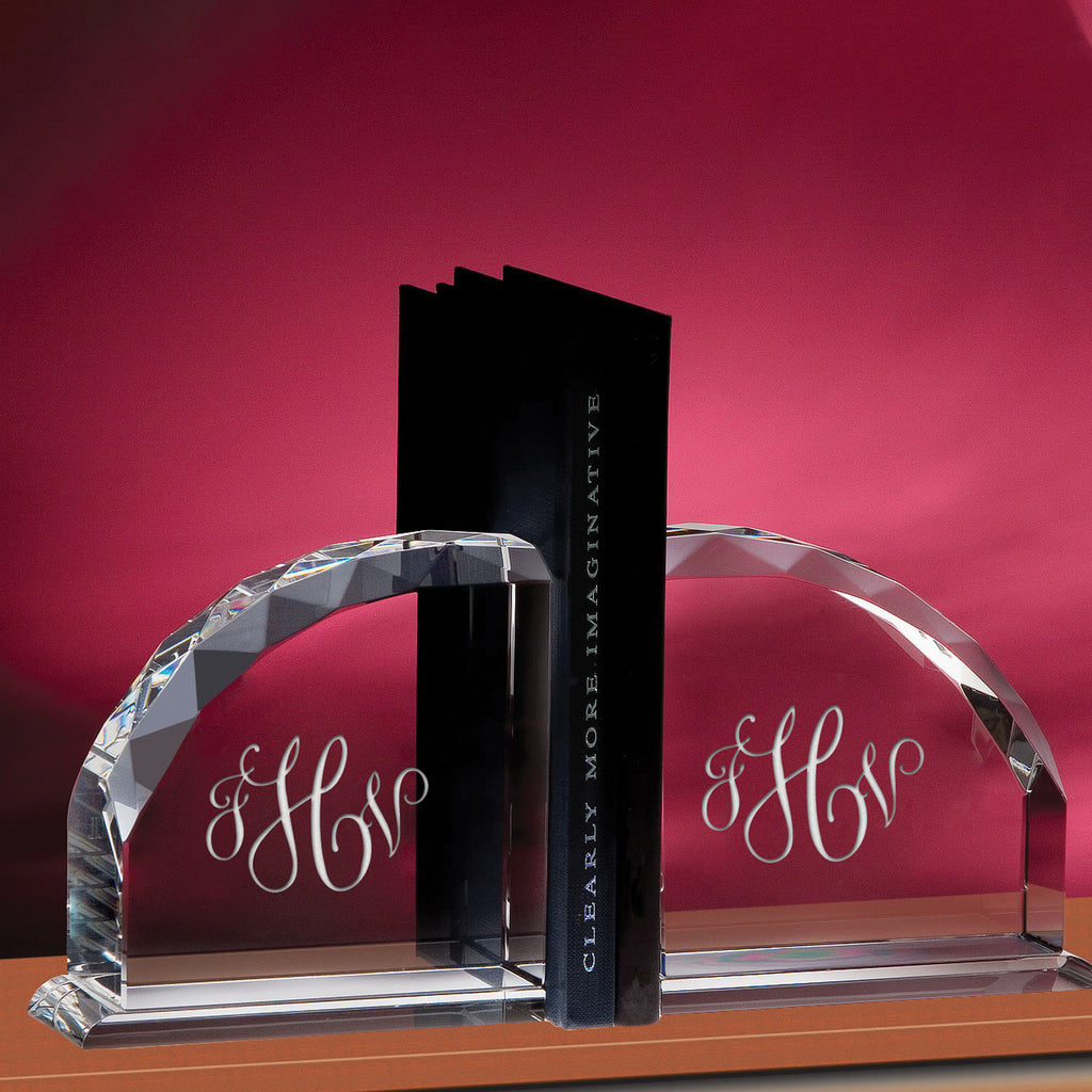 Crystal Bookends - Item #1377