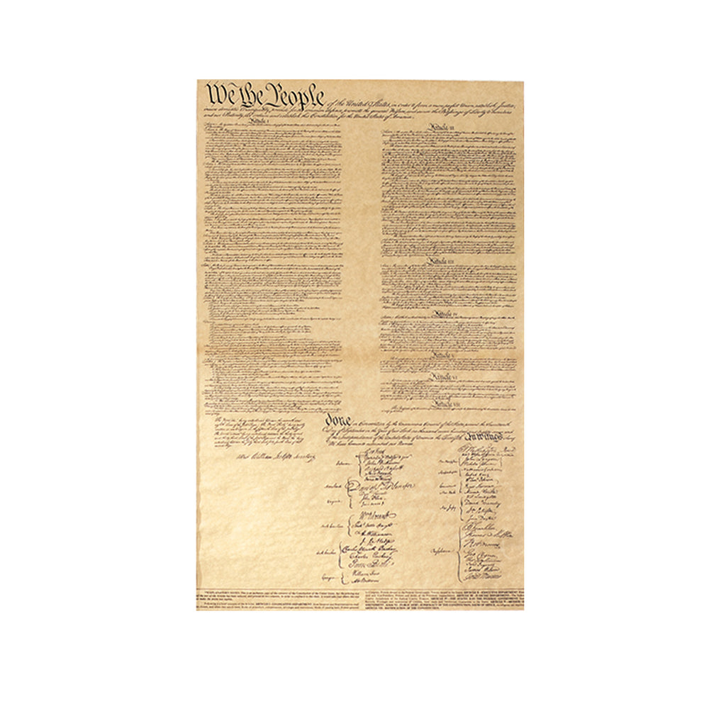 Historical Documents - U.S. Constitution Item #1470U