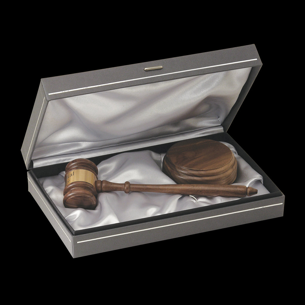 The Chairman Gavel Set - Item #1724