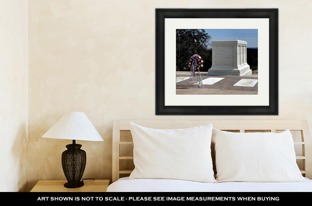 Framed Print, Arlington Va Tomb Of The Unknown Soldier