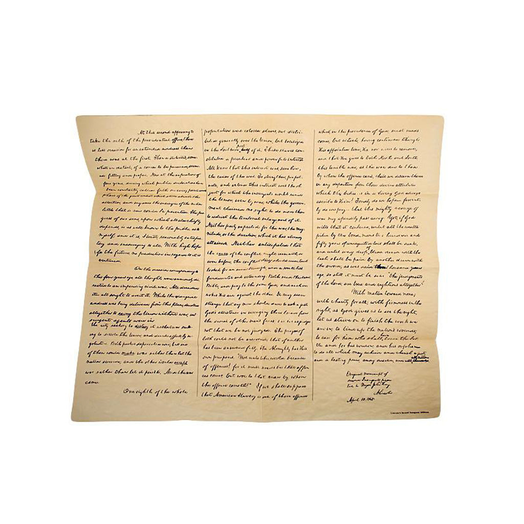 Historical Documents - Lincoln's Writing Sets Item #H0004