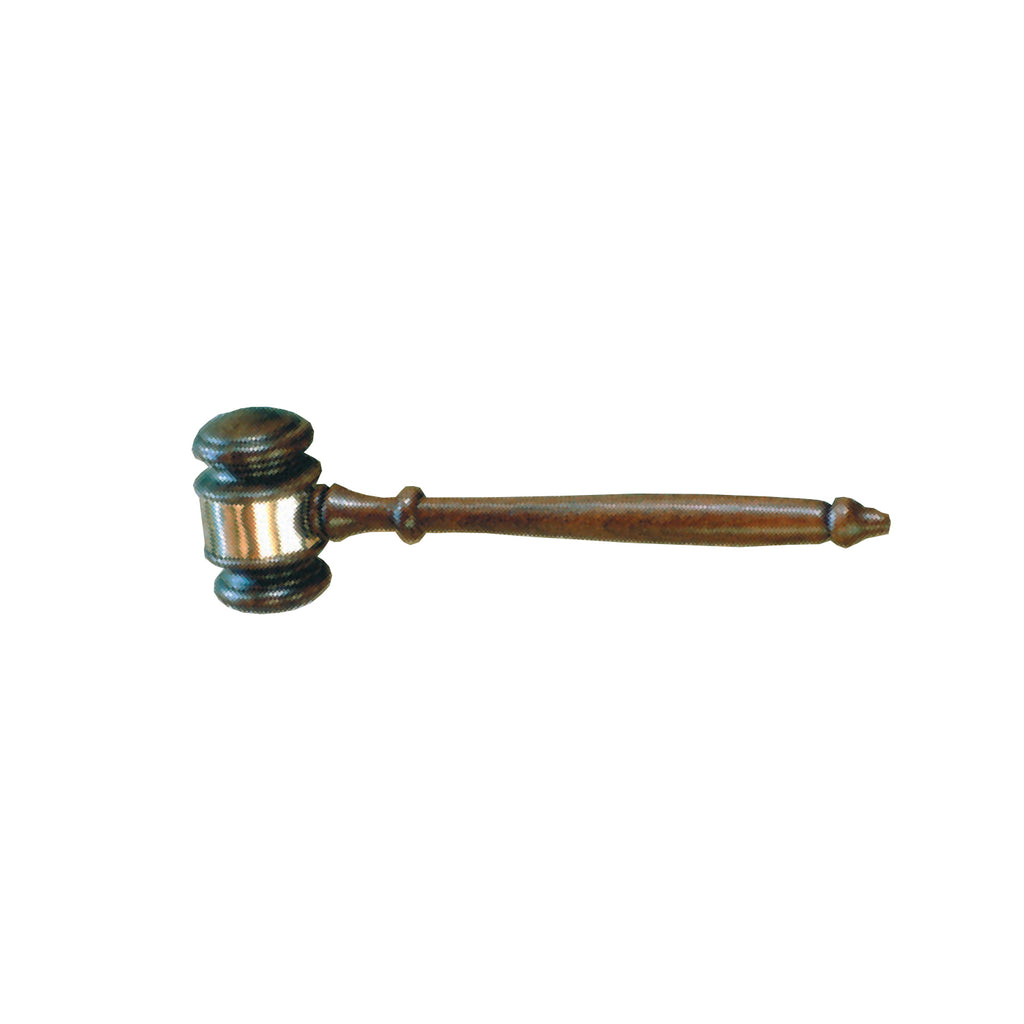 Quality Walnut Gavel - Item #0600