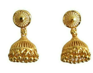 Indian Bollywood Bridal Wedding Fashion Gold Plated Earrings Fashion Jewelry