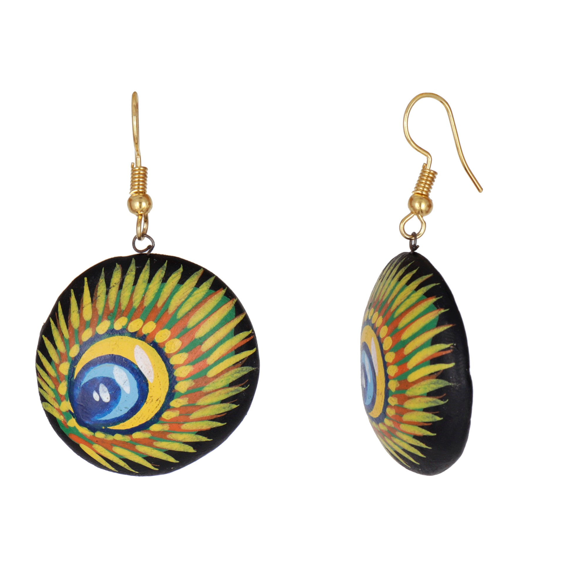 Indian Terracotta Handcrafted Vintage Ancient Couple Style Fashion Jewelry
