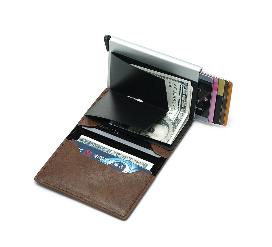 Slim Leather RFID SuperWallet