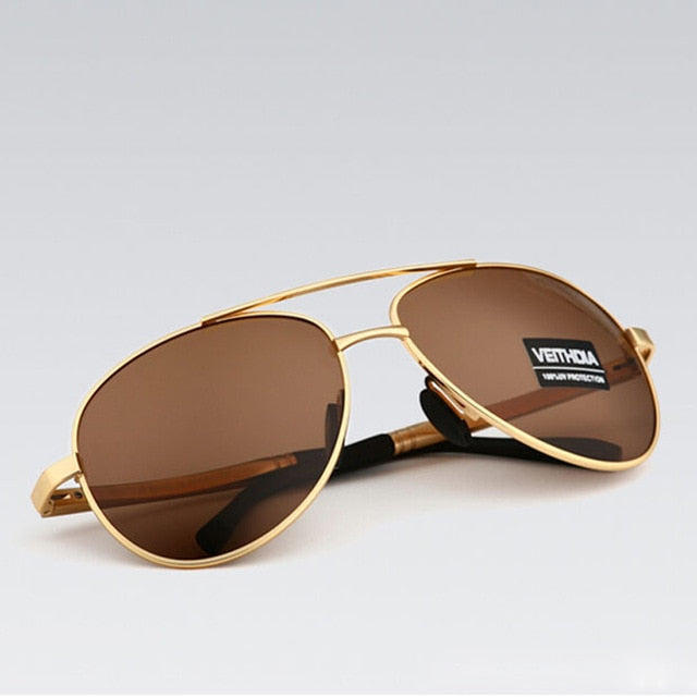 Designer Polarized Aviators
