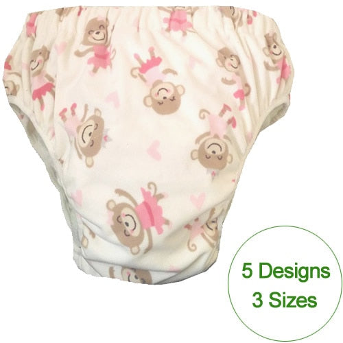 S/M/L Variety Drawings Cloth Nappy