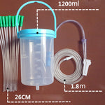 Enema Kit 1.2L with a long tube.