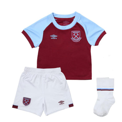 Umbro West Ham United Home Baby Kit | Claret | 2020/21
