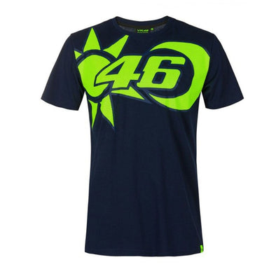 Valentino Rossi VR46 Men's Sun and Moon T-Shirt | Blue | 2021