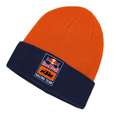 Red Bull KTM Racing Team Fletch Reversible Beanie | Navy/Pumpkin | Adult | 2021