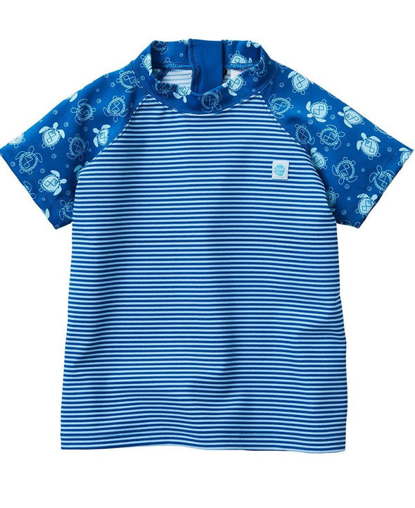 Splash About Boys Short Sleeve Rash Top - Turtle Mania