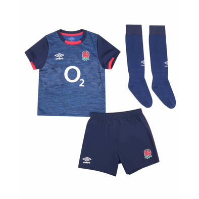 Umbro England RFU Rugby Alternate Junior Mini Kit | Blue | 2020/21