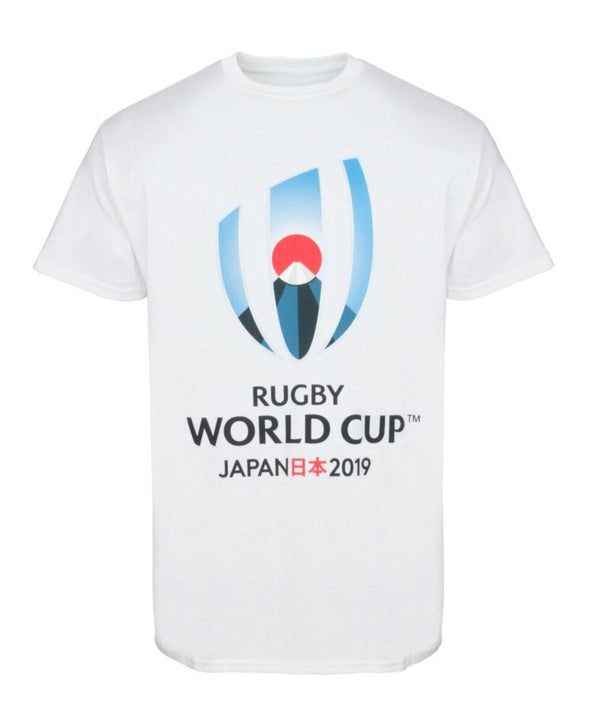 Rugby World Cup 2019 Kids Large Logo T-Shirt | White
