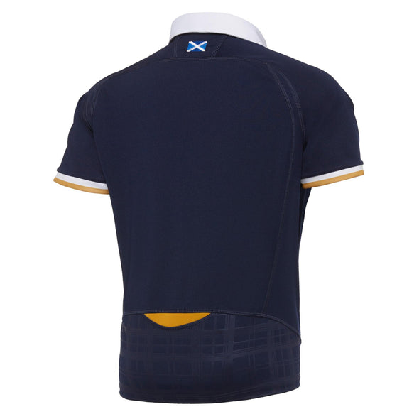 Macron Scotland Rugby Junior Home Replica Shirt | Navy | 2020/21