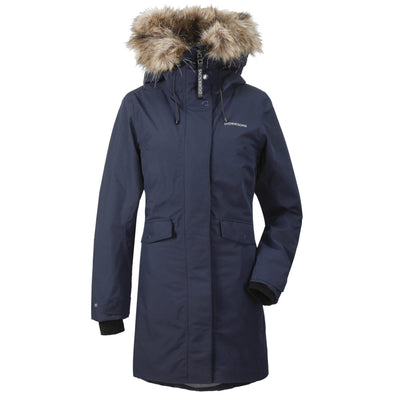 Didriksons Erika Womens Parka | Dark Night Blue
