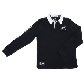 New Zealand All Blacks Kids Long Sleeved Rugby Shirt | 2019/20 Season