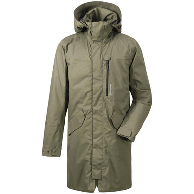 Didriksons Arnold Mens Parka | Fog Green