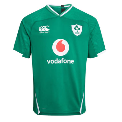 Canterbury Ireland IRFU Rugby Home Pro Shirt | Bosphorus | 2019 | Kids
