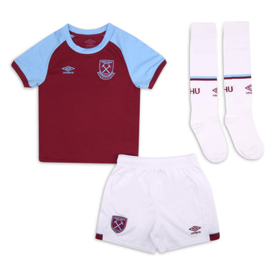 Umbro West Ham United Home Junior Mini Kit | Claret | 2020/21