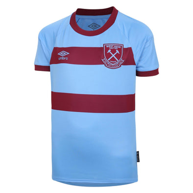 Umbro West Ham United Away Shirt | Blue | 2020/21 | Junior