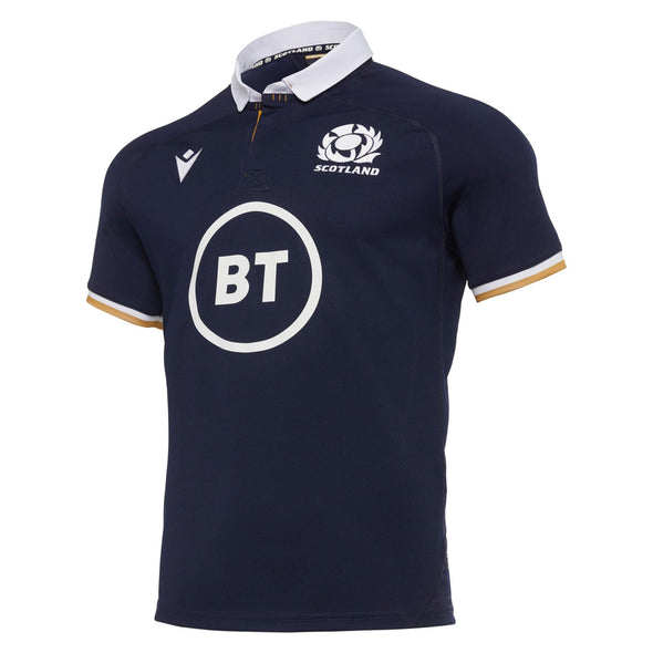 Macron Scotland Rugby Mens Home Replica Shirt | Navy | 2020/21