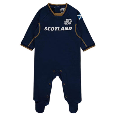 Scotland Rugby Baby Sleepsuit | Navy | 2021