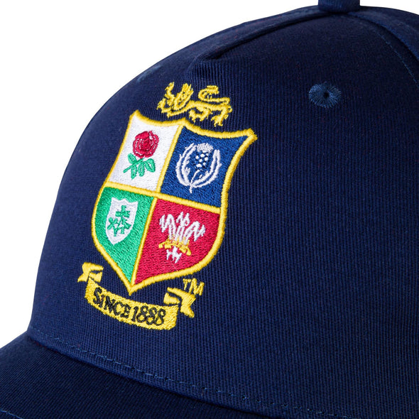 Canterbury British & Irish Lions Rugby Baseball Cap | Blue | 2021 | Adult