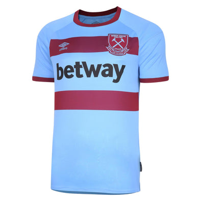 Umbro West Ham United Away Shirt | Blue | 2020/21 | Adult